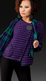 Dorian Jacket Shown in Amethyst