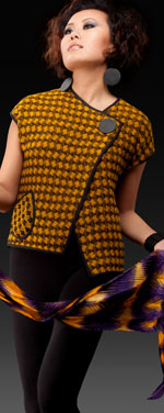 Lydian Jacket Shown in Saffron