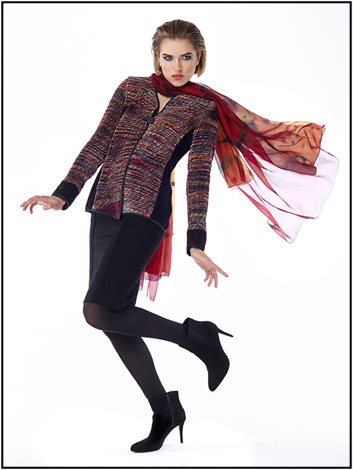Hand Woven Jackets by Laura Fisher-Bonvallet
